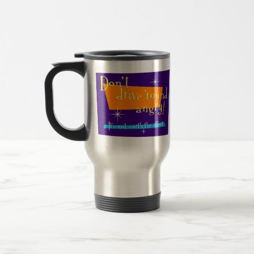 Retro Road Rage mug