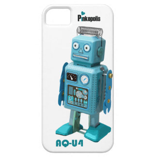 Retro Robot AQ-U4 iphone 5 is alive! iPhone 5 Cover
