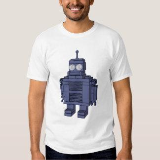 Retro Robot - Blue T-shirts