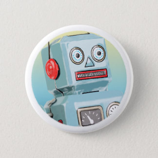 Retro Robot Button