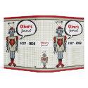 Retro Robot Fun Kids Custom Journal / Binder binder