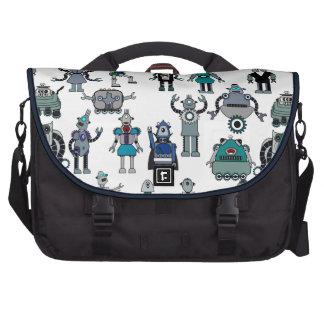 Retro Robot Geek Laptop bag - SciFi Geekery