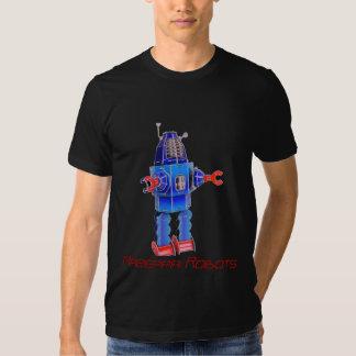 retro-robot, Mazeppa Robots, Mazeppa Robots T Shirts