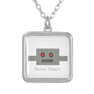 Retro Robot - Necklace