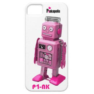 Retro Robot P-NK iphone 5 is alive! iPhone 5 Cases