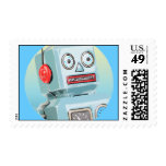 Retro Robot Postage
