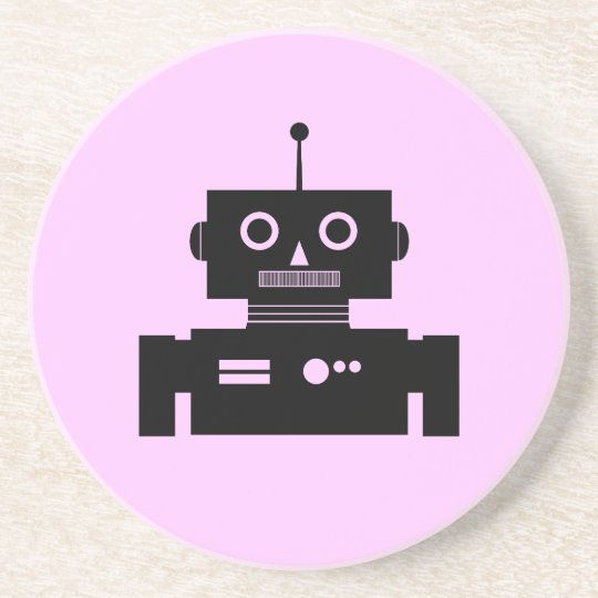 Retro Robot Shape Drink Coaster
