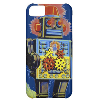 Retro Robot Vintage Space SciFi Toy Phone Case iPhone 5C Covers
