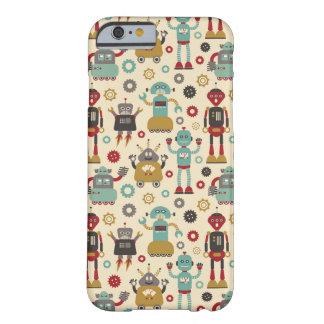 Retro Robots (Cream) iPhone 6 Barely There iPhone 6 Case