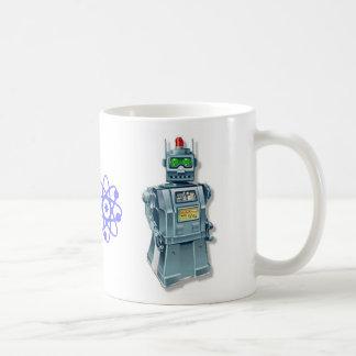 Retro Robots Rule Mug