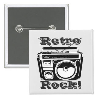 Retro Rock! Button