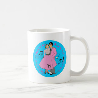 retro rock coffee mug
