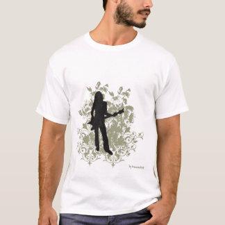 Retro Rock Girl T-Shirt