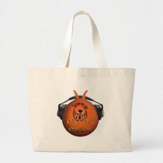 Retro Rock Space Hopper Canvas Bags