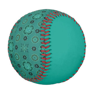 Retro Rockabilly Vintage Bandanna Teal Baseball