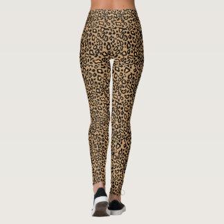 Retro Rockabilly Women's Leopard Print Leggings