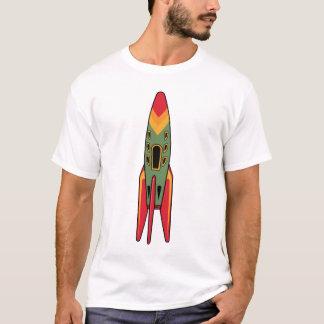 Retro Rocket - Color T-Shirt