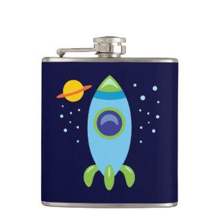 Retro Rocket Flask