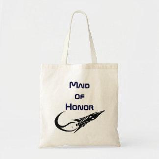 Retro Rocket Maid of Honor Bag
