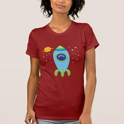 Retro Rocket Tee Shirt