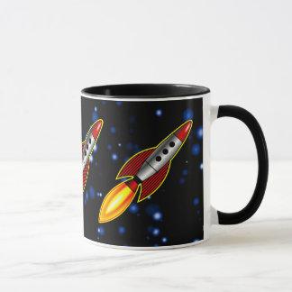 Retro Rockets - Customized Mug