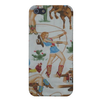 Retro Rodeo Cowgirls Speck Case iPhone 4 iPhone 5 Case