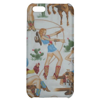Retro Rodeo Cowgirls Speck Case iPhone 4 Case For iPhone 5C