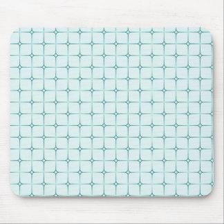 Retro Romance Mousepad, Turquoise Mouse Pad