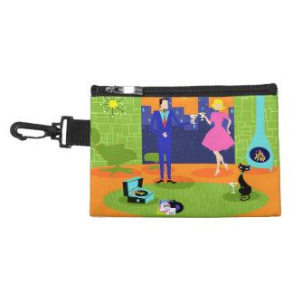 Retro Romantic Evening Clip On Accessory Bag