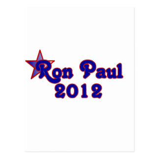 Retro Ron Paul 2012 Postcard