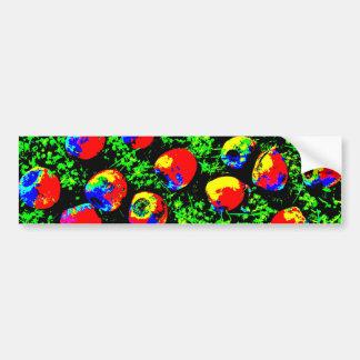 Retro Rop Art Bumper Sticker