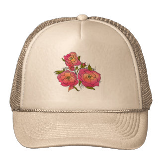 Retro Rose Apparel Trucker Hat