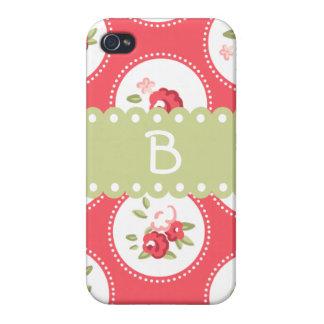 Retro Roses 2 iPhone 4/4S Case