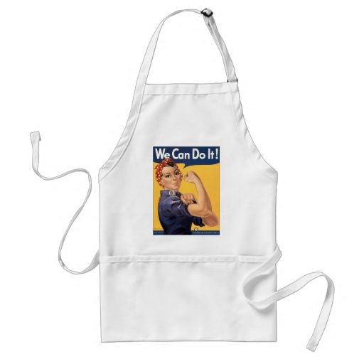 Retro Rosie We Can Do It Aprons