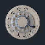 """Retro Rotary Phone Dial Candy Tin<br><div class=""""desc"""">A retro rotary phone dial in an antique almond color.</div>"""