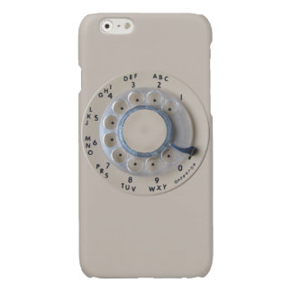 Retro Rotary Phone Dial Glossy iPhone 6 Case