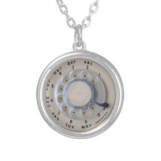 Retro Rotary Phone Dial Necklaces
