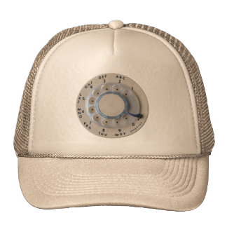 Retro Rotary Phone Dial Trucker Hat