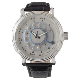 Retro Rotary Phone Dial Watch