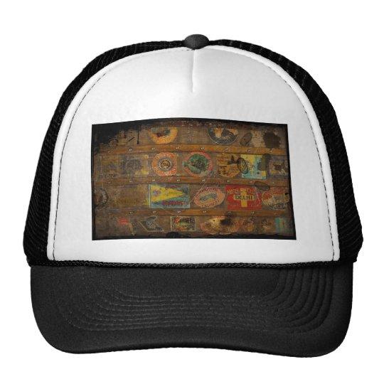 Retro Round the World Trunk Trucker Hat