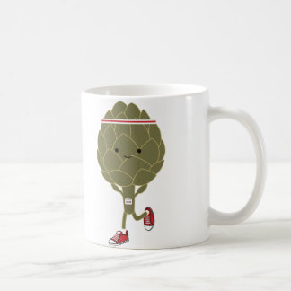 Retro Running Artichoke Coffee Mug