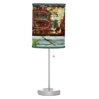 Retro Rusty Bar Sign Lamp