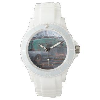 Retro Rusty Chrome Beast Watch