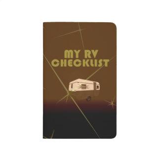 Retro RVers Pocket (Bound) Notepad Journal