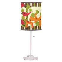Retro Safari Animals Table Lamp