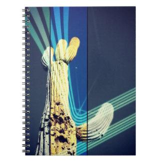 Retro Saguaro Notebook
