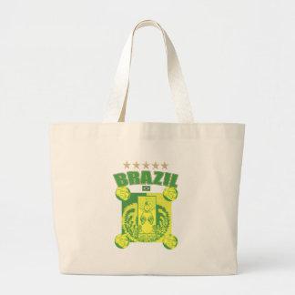 Retro Samba futebol faded artwork gifts Canvas Bag