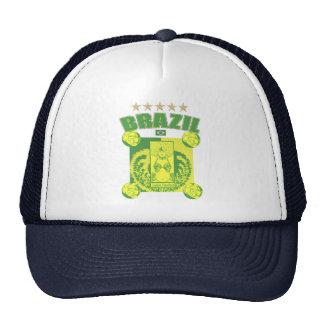 Retro Samba futebol faded artwork gifts Trucker Hat