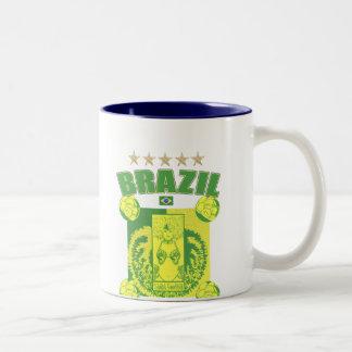 Retro Samba futebol faded artwork gifts Coffee Mugs
