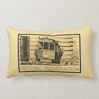 Retro San Francisco Cable Car Pillows